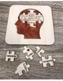 Felicitare Puzzle