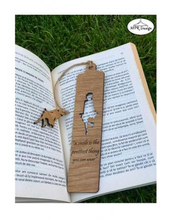 Semn de carte din lemn