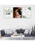 Set tablouri lemn FAMILY