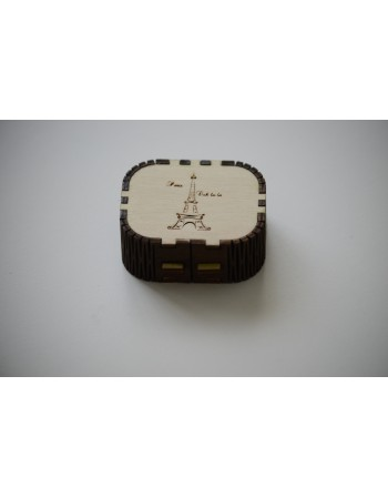 Cutie din lemn pentru bijuteri mica