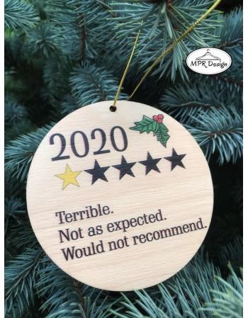 Glob din lemn color 2020