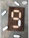 Puzzle din lemn cifre
