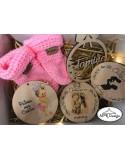 Set cadou personalizat pentru bebe
