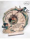 Decoratiune pentru bunici de Craciun