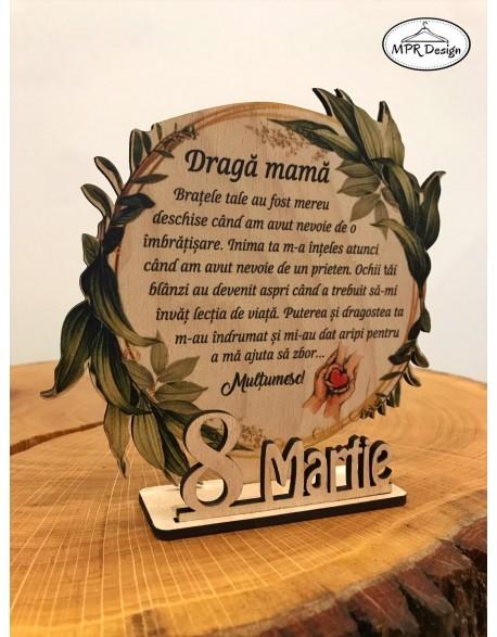 Decoratiune personalizata pentru Craciun