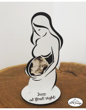 Rama pentru ecografie bebe