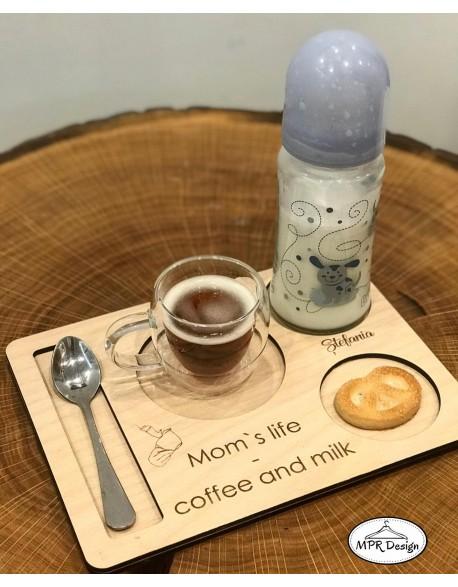Tava pentru cafea personalizata