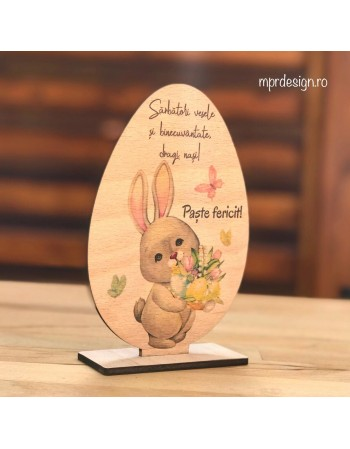 Ou din lemn Primul meu Paste