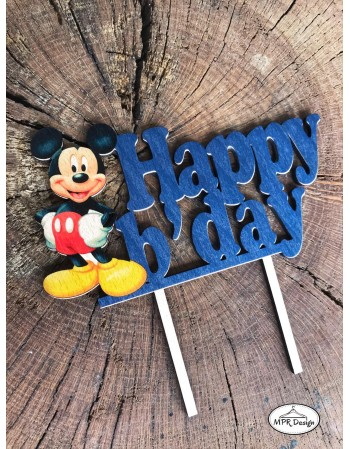 Cake topper Mickey Mouse