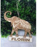 Glob personalizat Elefant